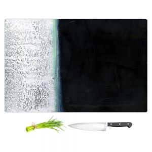 Artistic Kitchen Bar Cutting Boards | Dora Ficher - Not Always Black or White 9 | Abstract stripes grunge