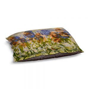 Decorative Dog Pet Beds | Dora Ficher - Purple Flowers | Nature Flowers