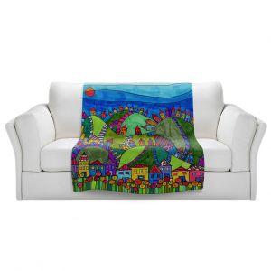 Artistic Sherpa Pile Blankets   Dora Ficher - Rolling Hills