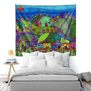 Artistic Wall Tapestry | Dora Ficher - Rolling Hills