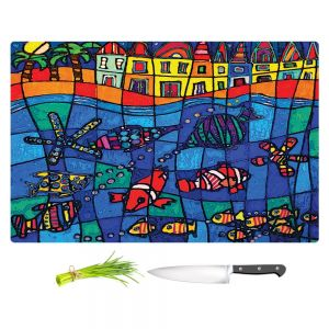 Artistic Kitchen Bar Cutting Boards | Dora Ficher - Sea Life