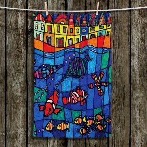 Unique Bathroom Towels | Dora Ficher - Sea Life
