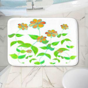 Decorative Bathroom Mats | Dora Ficher - Spring is Here | Nature Flowers