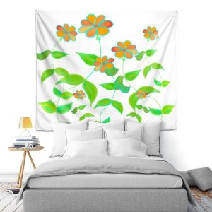 Artistic Wall Tapestry   Dora Ficher - Spring is Here   Nature Flowers