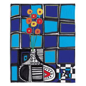 Decorative Fleece Throw Blankets | Dora Ficher - The Vase
