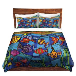 Artistic Duvet Covers and Shams Bedding | Dora Ficher - Under the Sea