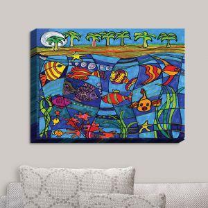 Decorative Canvas Wall Art | Dora Ficher - Under the Sea