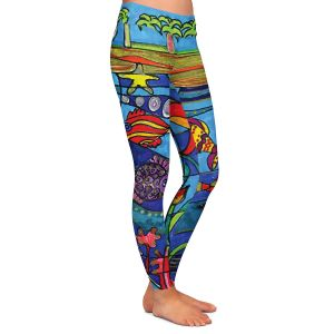 Casual Comfortable Leggings | Dora Ficher Under the Sea