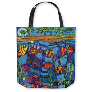 Unique Shoulder Bag Tote Bags | Dora Ficher Under the Sea
