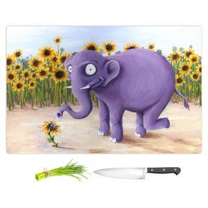 Artistic Kitchen Bar Cutting Boards | Gabriel Cunnett - Growth Spurt Elephant