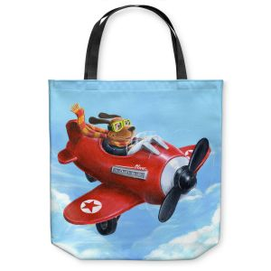Unique Shoulder Bag Tote Bags | Gabriel Cunnett Wing It