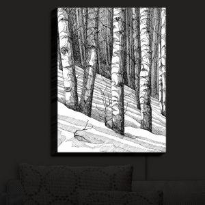 Nightlight Sconce Canvas Light | Gerry Segismundo - Dont Snowboard Here