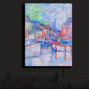 Nightlight Sconce Canvas Light | Gerry Segismundo - Harbor Somewhere
