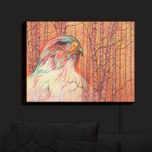 Nightlight Sconce Canvas Light | Gerry Segismundo - Raptor All Psyched Up