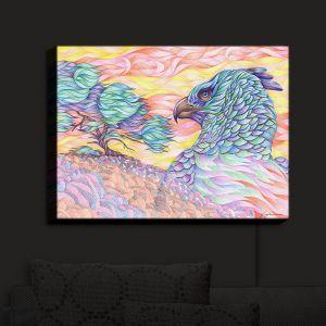 Nightlight Sconce Canvas Light | Gerry Segismundo - Raptors Vigilance