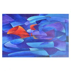 Decorative Floor Covering Mats | Gerry Segismundo - Sax on Wall | instrument music abstract geometric