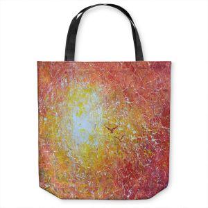 Unique Shoulder Bag Tote Bags   Gerry Segismundo - Say Goodbye 1   bird abstract sky sun impressionism