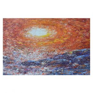Decorative Floor Covering Mats | Gerry Segismundo - Splash | ocean landscape sky sun wave