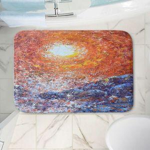 Decorative Bathroom Mats | Gerry Segismundo - Splash | ocean landscape sky sun wave