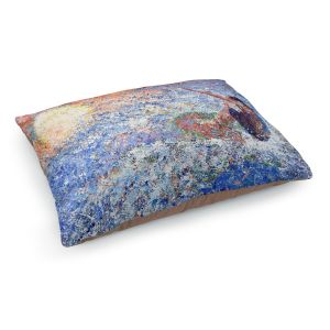 Decorative Dog Pet Beds | Gerry Segismundo - Touch the Sun | surfer surfing abstract impressionism