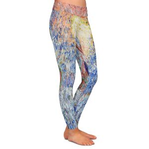 Casual Comfortable Leggings | Gerry Segismundo - Touch the Sun | surfer surfing abstract impressionism