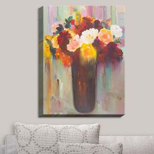 Decorative Canvas Wall Art | Hooshang Khorasani - Bouquet of Flowers