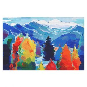 Decorative Floor Coverings | Hooshang Khorasani Cascade of Colors