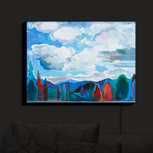 Nightlight Sconce Canvas Light   Hooshang Khorasani's Color and Clouds