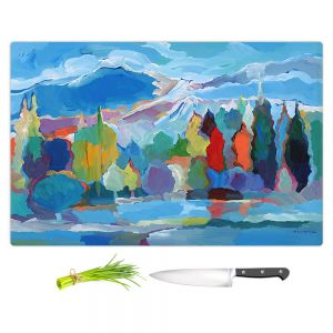 Artistic Kitchen Bar Cutting Boards | Hooshang Khorasani - Colorado Collection