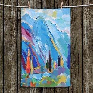 Unique Bathroom Towels | Hooshang Khorasani - Colorado Composition