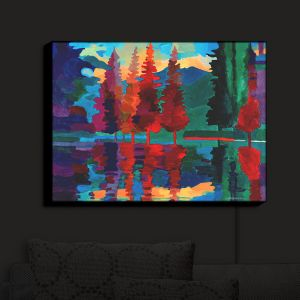 Nightlight Sconce Canvas Light | Hooshang Khorasani's Colorado Sunset