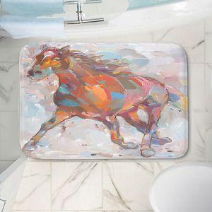 Decorative Bathroom Mats | Hooshang Khorasani - Equine Advance Horses