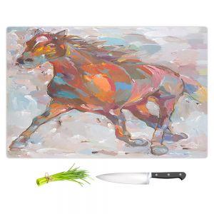 Artistic Kitchen Bar Cutting Boards | Hooshang Khorasani - Equine Advance Horse
