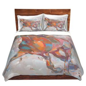 Artistic Duvet Covers and Shams Bedding | Hooshang Khorasani - Equine Advance Horses