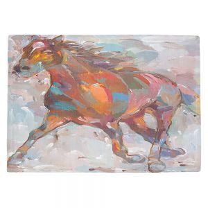 Countertop Place Mats   Hooshang Khorasani Equine Advance Horse
