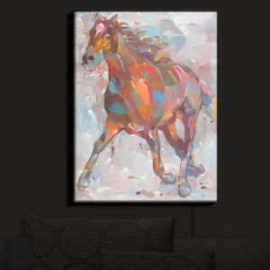 Nightlight Sconce Canvas Light | Hooshang Khorasani's Equine Advance