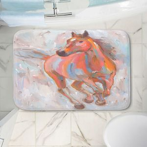 Decorative Bathroom Mats | Hooshang Khorasani - Equine Elegance I Horses