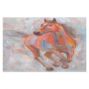 Decorative Floor Coverings | Hooshang Khorasani Equine Elegance I Horse