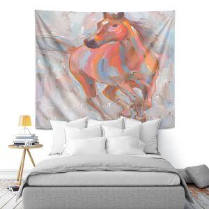 Artistic Wall Tapestry | Hooshang Khorasani Equine Elegance I Horse