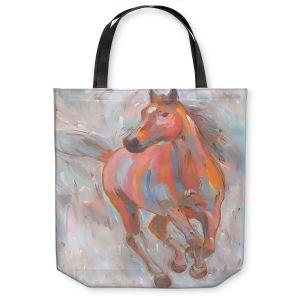 Unique Shoulder Bag Tote Bags | Hooshang Khorasani Equine Elegance I Horse