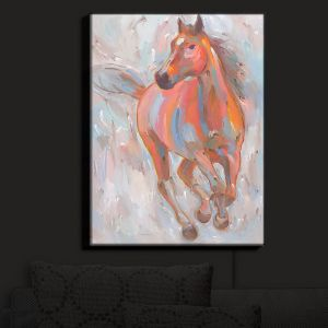 Nightlight Sconce Canvas Light | Hooshang Khorasani's Equine Elegance