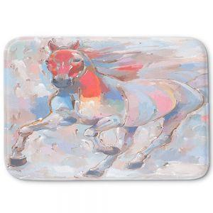 Decorative Bathroom Mats   Hooshang Khorasani - Equine Elegance II Horses