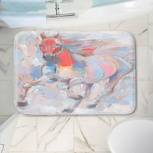 Decorative Bathroom Mats | Hooshang Khorasani - Equine Elegance II Horses