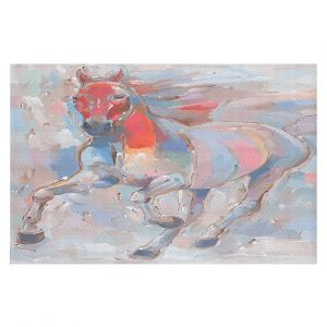 Decorative Floor Coverings | Hooshang Khorasani - Equine Elegance II Horse