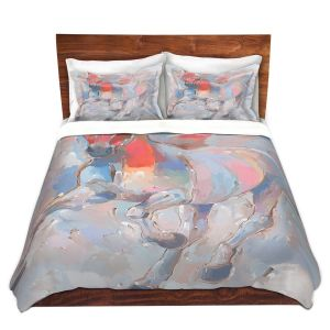 Artistic Duvet Covers and Shams Bedding | Hooshang Khorasani - Equine Elegance II Horses