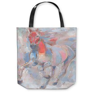 Unique Shoulder Bag Tote Bags | Hooshang Khorasani - Equine Elegance II Horse