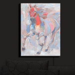 Nightlight Sconce Canvas Light | Hooshang Khorasani's Equine Elegance II