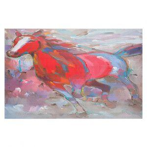 Decorative Floor Coverings | Hooshang Khorasani Equine Exuberance IV Horse