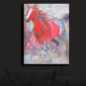 Nightlight Sconce Canvas Light | Hooshang Khorasani's Equine Exuberance IV