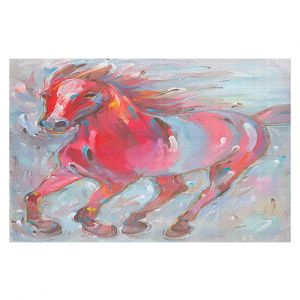 Decorative Floor Coverings | Hooshang Khorasani - Equine Power Horse